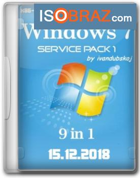 Активированная Windows 7 SP1 x86/x64 15.12.2018 с поддержкой USB 3.0