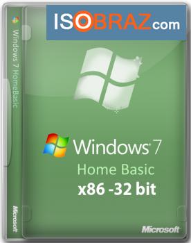 Windows 7 Home Basic х32 + драйвера